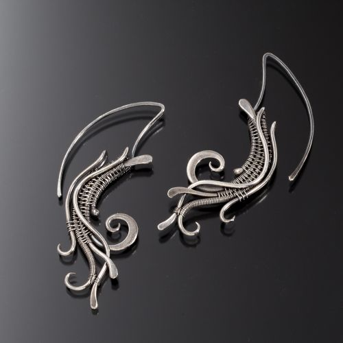 Dust-in-the-Wind Tribal-earrings